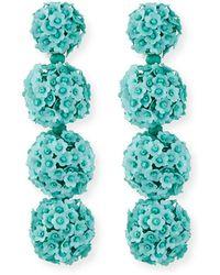 Sachin & Babi - Fleur Bouquet Clip-on Earrings - Lyst