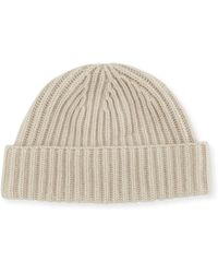 Portolano - Rib-knit Cashmere Hat - Lyst