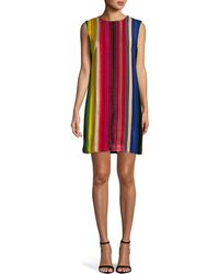 0614d02fd2ce Lafayette 148 New York Gina Pleated Dress in Black - Lyst