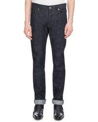 Berluti - Men's Straight-leg Cotton Jeans - Lyst