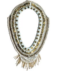 Mignonne Gavigan - Layne Beaded Chiffon Scarf Necklace - Lyst