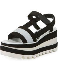 Stella McCartney - Sneakelyse Platform Sandal - Lyst