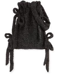 Simone Rocha - Tinsel Bow Drawstring Bucket Bag - Lyst