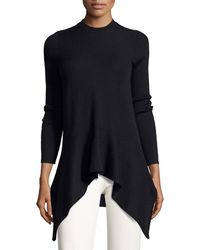 Derek Lam - Long-sleeve Crewneck Asymmetric Jumper - Lyst