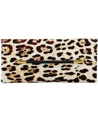Tom Ford - Ava Ghepardo Leopard-print Calf Hair Pochette Clutch Bag - Lyst