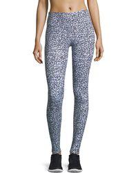 Varley - Cypress High-waist Full-length Leopard-print Tights - Lyst