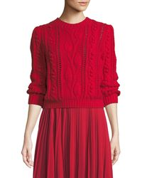 Co. - Cable Knit Jumper - Lyst