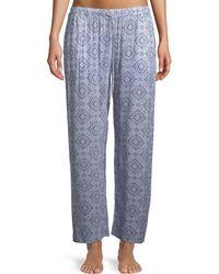 Hanro - Medallion Pattern Lounge Pants - Lyst