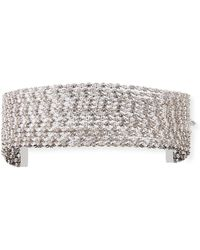 Fallon - Marquis Stacked Choker Necklace - Lyst