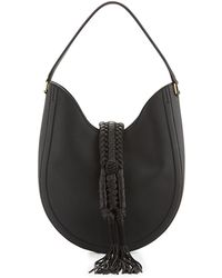 Altuzarra - Ghianda Small Leather Hobo Bag - Lyst
