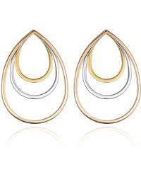 Vita Fede - Sophia Concentric Teardrop Earrings - Lyst
