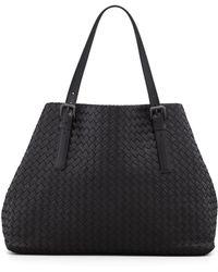Bottega Veneta - Large Double-strap A-shape Tote Bag - Lyst