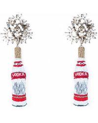 Mignonne Gavigan - Vodka Beaded Drop Earrings - Lyst
