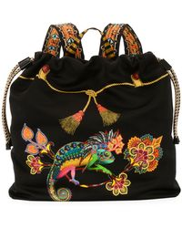 Etro - Zain Stampa Harlem Backpack - Lyst
