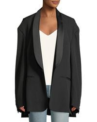 Vetements - Shawl-collar One-button Oversized Tux Jacket - Lyst