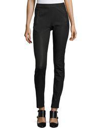 Iris Von Arnim - Leather Legging Trousers - Lyst