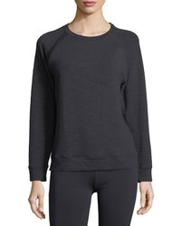 Under Armour - Crewneck Plush Terry Sweatshirt - Lyst