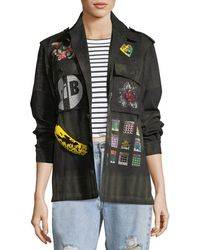 Libertine | Crystal Collage Beaded Army Jacket | Lyst