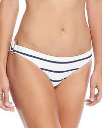 Heidi Klein - Core Textured Rectangle Swim Bikini Bottom - Lyst