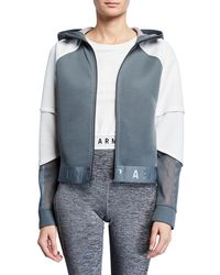 Under Armour - Move Light Full-zip Hooded Active Jacket - Lyst