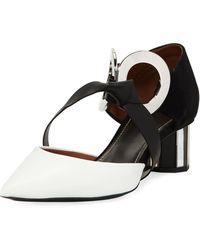 Proenza Schouler - Colorblock Ankle Pumps - Lyst