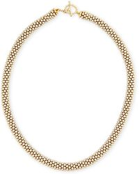 Meredith Frederick - Leonore 14k Gold Bead Necklace - Lyst