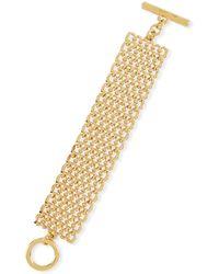 Oscar de la Renta - Linked Chain Bracelet - Lyst