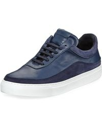 Public School - Braeburn Leather Low-top Trainer - Lyst