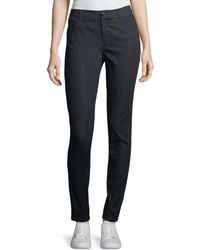 Lafayette 148 New York - Mercer Primo Stretch-denim Mid-rise Skinny Jeans - Lyst