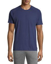 Z Zegna - Crewneck Raglan-sleeve T-shirt - Lyst