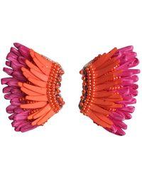 Mignonne Gavigan - Madeline Mini Raffia Statement Earrings - Lyst