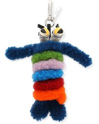 Fendi - Shearling Monster Spring Charm For Bag Or Briefcase - Lyst