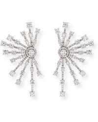 Fallon - Monarch Firework Fan Earrings - Lyst