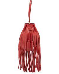 10 Crosby Derek Lam   Mini Prince Fringed Bucket Bag   Lyst