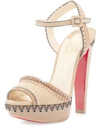 christian louboutin imitation shoes - christian louboutin pyrabubble studded red sole sandal, mens ...