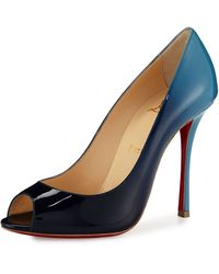 louboutin loafer - christian louboutin yootish peep toe pump, replica cl shoes usa