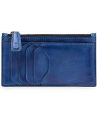 Berluti - Koa Burnished Leather Card Case/zip Wallet - Lyst