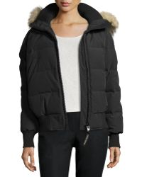 Canada Goose - Savona Hooded Quilted Bomber Jacket - Lyst