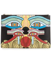 Givenchy - Medium Egyptian Four Eyes Pouch Bag - Lyst