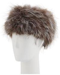 La Fiorentina - Fox-fur Russian Hat - Lyst