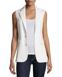 Pink Pony - Button-front Vest - Lyst