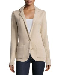 Pink Pony - Cashmere Two-button Jacket - Lyst