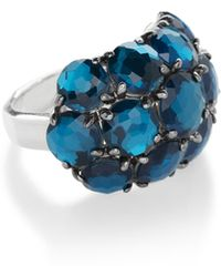 Ippolita - 925 Rock Candy Wonderland Cluster Dome Ring In Frost - Lyst
