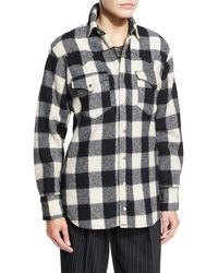 Pink Pony - Buffalo Check Flannel Shirt - Lyst