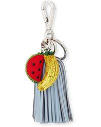 Altuzarra - Ghianda Tassel Key Chain With Sequined Fruit - Lyst