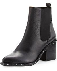 10 Crosby Derek Lam - Renee Leather Ankle Boot - Lyst
