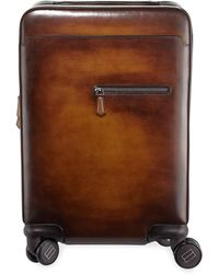 Berluti - Formula 1004 Leather Trolley Suitcase - Lyst