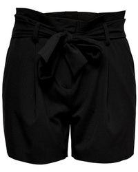 ONLY Paperbag Shorts - Zwart