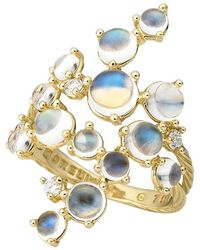 """Paul Morelli - Moonstone """"bubble Cluster"""" Ring - Lyst"""