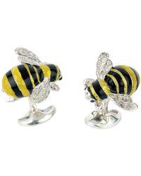 Deakin & Francis - Silver Bumblebee Cufflinks - Lyst